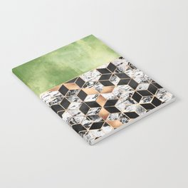 Birch Tree Cubes Notebook