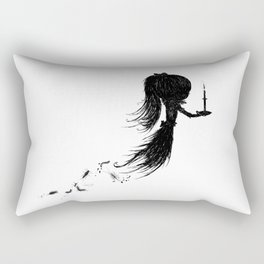 Little Soul and Candle by Carine-M Rectangular Pillow