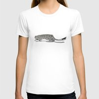 snow leopard T-shirts featuring Snow Leopard by RGromek
