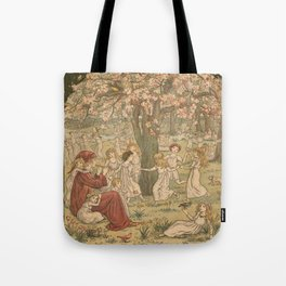 The Pied Piper of Hamelin - Robert Browning Tote Bag
