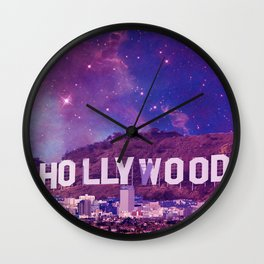 Hipsterland - Los Angeles Wall Clock