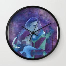 space dance Wall Clock