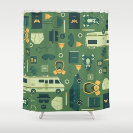 Breaking Bad Shower Curtain