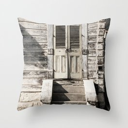 Vintage New Orleans II Throw Pillow