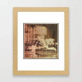 line of the times Framed Art Print