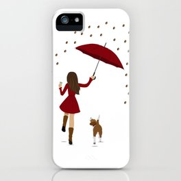 "I hope it rains Coffee ""Ojalá que llueva café"" iPhone Case"