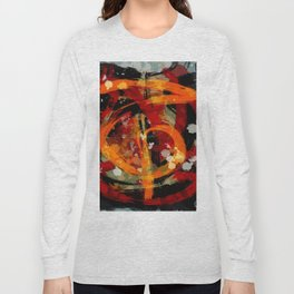 Into the dragon abstract  art Long Sleeve T-shirt