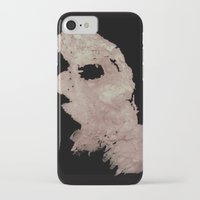 in the flesh iPhone & iPod Cases featuring Flesh by Vezper Art