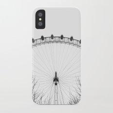 London Eye iPhone X Slim Case