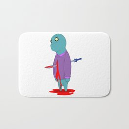 Insensitive Die Bath Mat