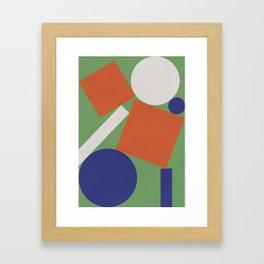 Geometry III Framed Art Print
