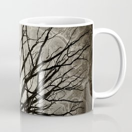 Face of Winter Witch Nature Abstract Coffee Mug