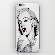 Marilyn Vamp iPhone & iPod Skin