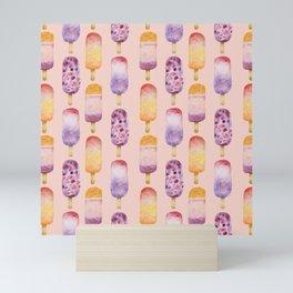 Popsicle - peach Mini Art Print