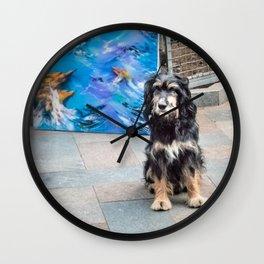 Artist's friend Wall Clock