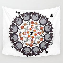 STUDIO GHIBLI MANDALA Wall Tapestry