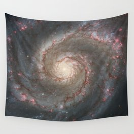 The Whirlpool Galaxy Wall Tapestry