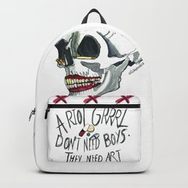 Riot Grrrl Backpack