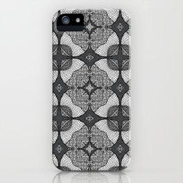 Doodle Pattern 10 iPhone Case