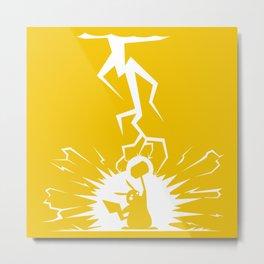 The power of lighting Metal Print
