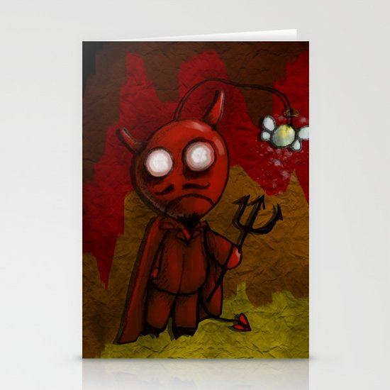 DevilBob Stationery Cards