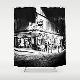 Café le Nazir (Montmartre; Paris) Shower Curtain