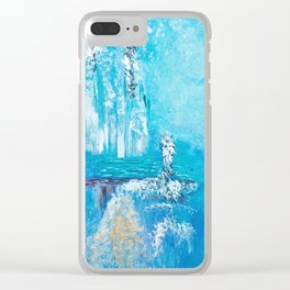 cristal world Clear iPhone Case