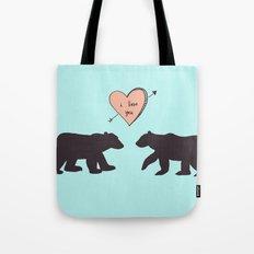 Polar Bear Love Tote Bag