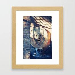 Bocca de Verita Framed Art Print