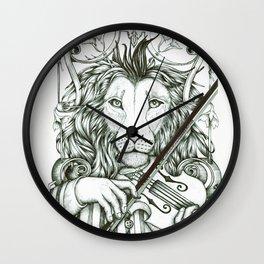 Lionviol Wall Clock