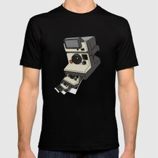 Cam-ception (continuous snapshot) Mens Fitted Tee MEDIUM Black