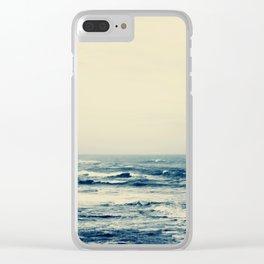 sea XIV Clear iPhone Case