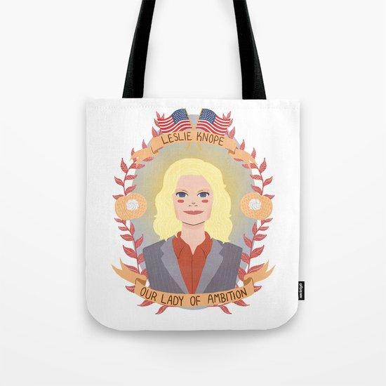Leslie Knope Tote Bag