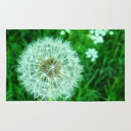 Dandelions and dreams Rug