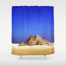Pyramids Shower Curtain