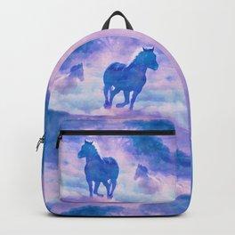 Horses run Backpack