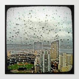 A Rainy Day in San Diego Canvas Print