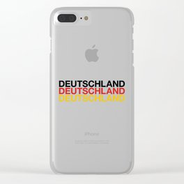 GERMANY Clear iPhone Case