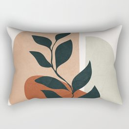 Soft Shapes II Rectangular Pillow