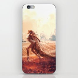 ARIES from the Dancing Zodiac iPhone Skin