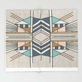 Native Insert Throw Blanket