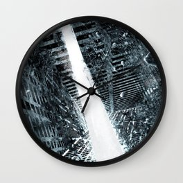 nikes dark Wall Clock