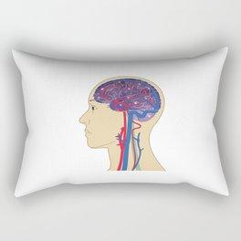 Universe in Brain_B Rectangular Pillow