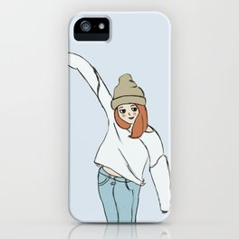 It's Sweater Weather! iPhone Case