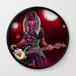 Jagger Hare Concept Art Wall Clock