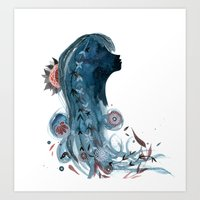 SPROUT AND THE BEAN Art Print