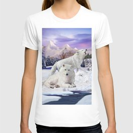 Snow Wolves of the Wilderness T-shirt