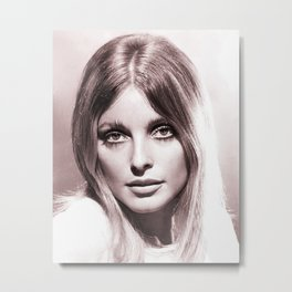 Sharon Tate poster Valley Of The Dolls 1967 Metal Print