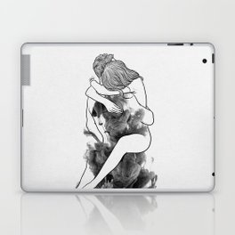 I find peace in your hug. Laptop & iPad Skin