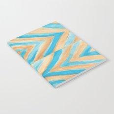 Beach Chevron Notebook